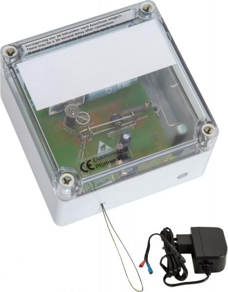 VSB+ST - Elektronischer Pförtner mit Steckernetzteil / automatische Hühnerklappe / Klappensteller