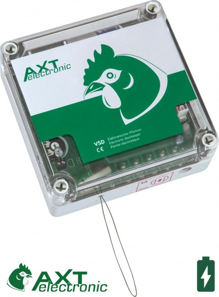 VSD - Electronic doorkeeper with batteries and manual control