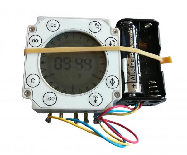 FA-D digitale Zeitschaltuhr mit Batteriehalter für Futterautomat, ohne Gehäuse