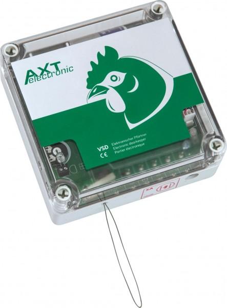 VSD – Elektronischer Pförtner für Hühnerklappe, automatisch öffnen und schließen, manuelle Bed. mögl