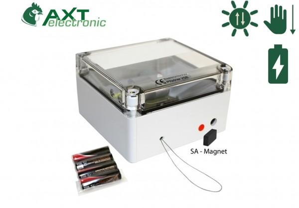 Elektronischer Pförtner mit Batterien und Funktion manuelles Schließen / Schließautomatik SA