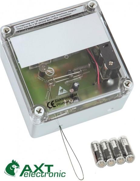VSBb – Elektronischer Pförtner, automatische Hühnerklappe mit Batterien