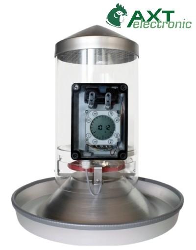 Futterautomat FA2 Elektronischer Futterautomat zum Füttern von Geflügel und Kleintieren