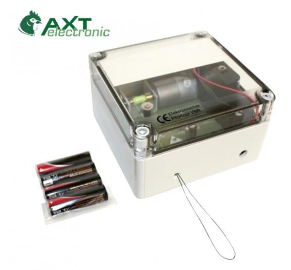 VSBb - Elektronischer Pförtner / automatische Hühnerklappe mit Batterien / Klappensteller