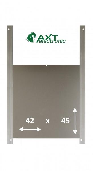 bHS - Alu-Hühnerhausschieber XL  (42x45cm)