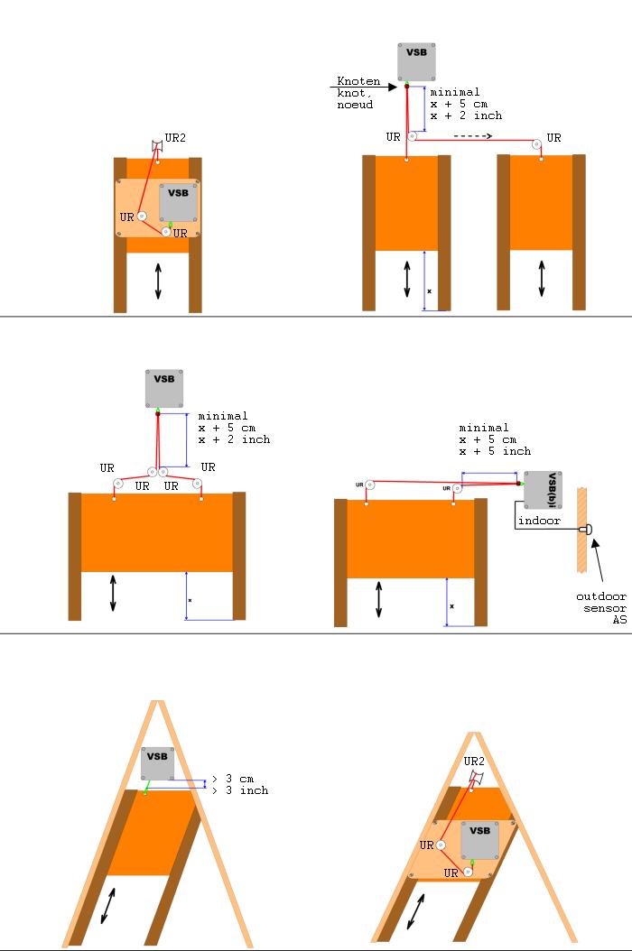 Montagebeispiele 2 VSB Elektronischer Pförtner