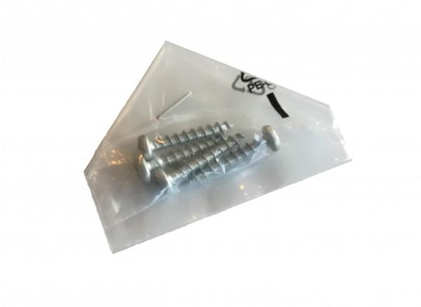 4x Befestigungsschrauben, Holzschrauben für Montage Schieber oder Geräte (4x M4x35)