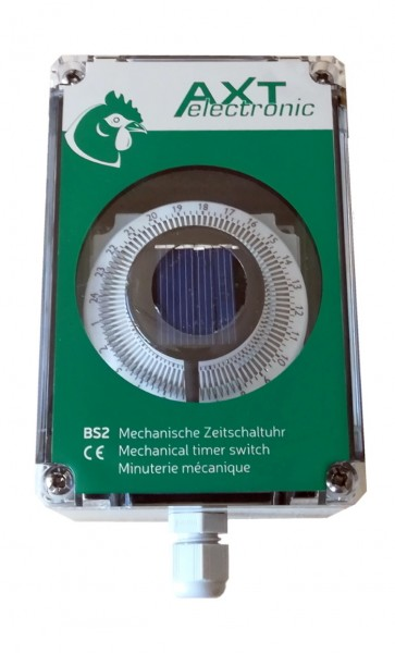 BS2-solar – mechanische Batterie-Zeitschaltuhr (Zubehör elektronischer Pförtner)