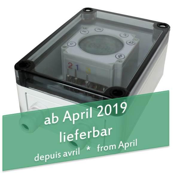 Digitale Zeitschaltuhr ZS-D für Elektronischen Pförtner 12V mit 220V Netzteil, automatische Hühnerklappe