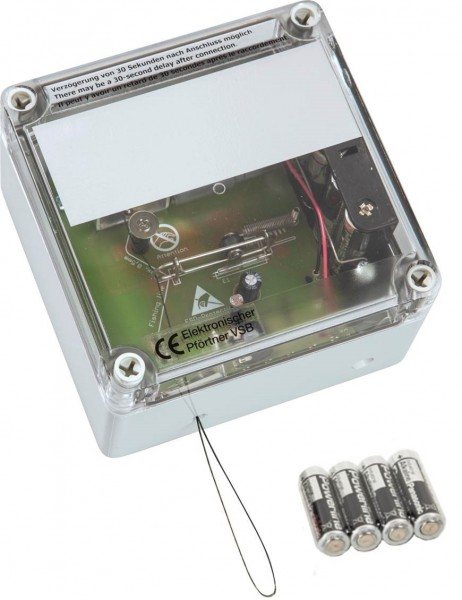 VSBb – Elektronischer Pförtner für Hühnerklappen, mit Batterien